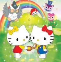 Hello Kitty e Mimmy