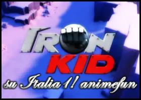 Logo Iron Kid - Antonio Genna Blog e Anime Fun Forum