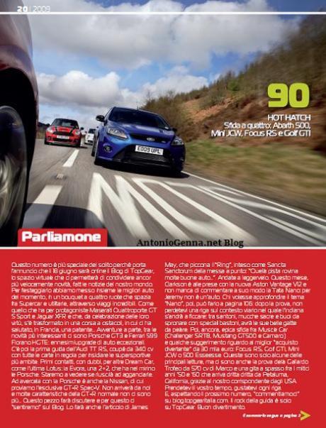 Top Gear 20 - Sommario 1