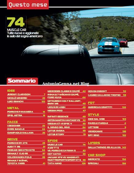 Top Gear 20 - Sommario 2