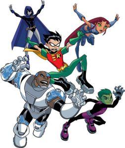 Teen Titans, i protagonisti capitanati da Robin