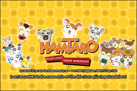 Hamtaro - Ritorna su Hiro!!