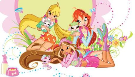 Winx Club 4^stagione - Su Raidue