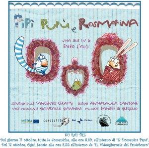 Pipì, Pupù e Rosmarina: su Raitre