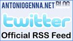 AntonioGenna.net Blog su Twitter - Official RSS Feed